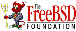 The FreeBSD Foundation Logo