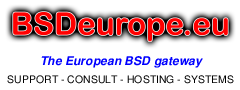 BSDeurope.eu is a gold sponsor of EuroBSDcon 2013
