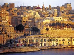 Valletta houses
